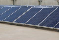 Schiera del comitato solare Immagini Stock