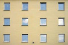 Schiera della finestra Immagine Stock