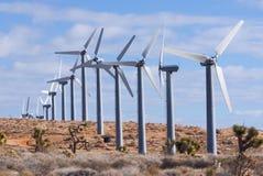 Schiera della turbina di vento Fotografie Stock Libere da Diritti