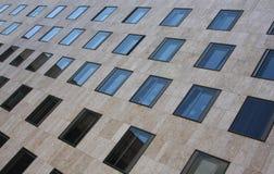 Schiera delle finestre Fotografie Stock