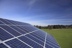 Schiera solare Fotografie Stock Libere da Diritti