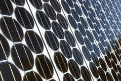 Schiere fotovoltaiche Fotografia Stock