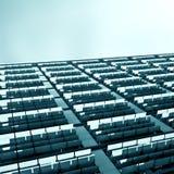 Schiere solari Fotografia Stock Libera da Diritti