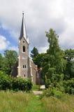 Schierke山教会, Harz,德国 库存照片