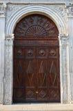 Schifanoia宫殿。费拉拉。伊米莉亚罗马甘。意大利。 免版税库存图片