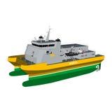 Schiff Stockbild