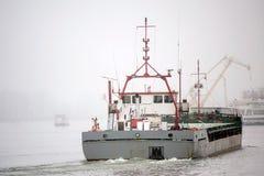 Schiff der gemischten Ladung stockbild