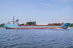 Schiff der gemischten Ladung WILSON WESER Inlands-Amsterdam stockfotos