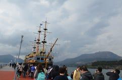Schiff Hakone-Besichtigung lizenzfreies stockfoto