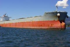Schiff im Hafen von Vancouver Lizenzfreie Stockfotografie