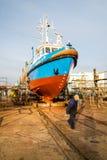 Schiff im slipi Lizenzfreie Stockfotografie