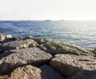 Schiff in Marmara-Meer Stockbilder