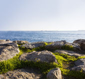 Schiff in Marmara-Meer Lizenzfreie Stockfotografie