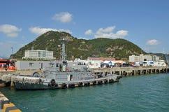 Schiff in Südkorea Stockbilder
