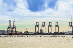 Schiff-Schiff am Seehafen stockfotografie
