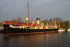 Schiff Sinterklaas Pakjesboot 12 - Hydrograaf - Stockfoto