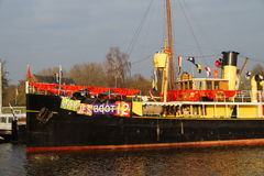 Schiff Sinterklaas Pakjesboot 12 - Hydrograaf - Lizenzfreies Stockbild