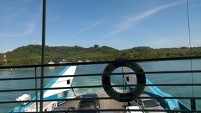 Schiff zu Chang-Insel Thailand Stockfoto