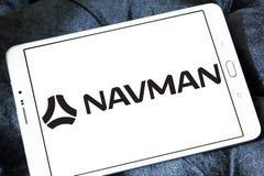 Schiffahrtsgesellschaftslogo Navman GPS lizenzfreies stockfoto