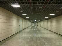 Schiffbrüche Marmaray-Korridor Lizenzfreie Stockbilder