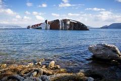 Schiffbruch Stockfotografie