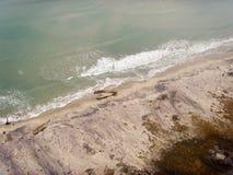 Schiffbruch auf dem Strand Lizenzfreie Stockbilder