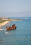 Schiffbruch des Dimitrios Lizenzfreie Stockbilder