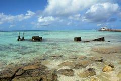 Schiffbruch von Managaha lizenzfreies stockfoto