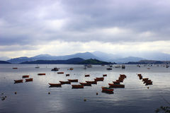 Schiffe in Hong Kong Lizenzfreies Stockfoto
