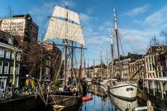 Schiffe von der Vergangenheit Lizenzfreies Stockbild