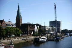 Schiffs-Admiral Nelson in Bremen Stockfotografie