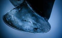 Schiffs-Propeller im Wasser Lizenzfreies Stockbild