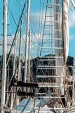 Schiffsdetails stockfotos