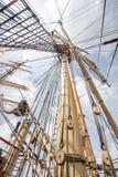 Schiffsmast Stockbild