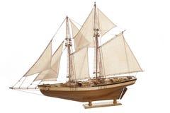 Schiffsmodell Stockbild