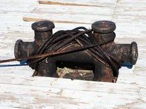 Schiffspoller Stockbild