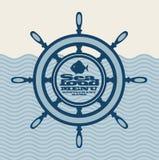 Schiffsrad lizenzfreie abbildung