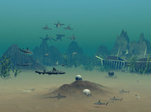 Schiffswrack Lizenzfreies Stockfoto