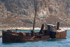Schiffswrack lizenzfreies stockbild