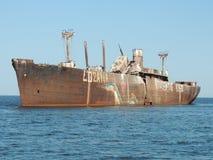 Schiffswrack Stockfotografie