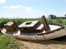 Schiffswrack Stockbild