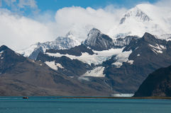 Schiffswrack in Antarktik Lizenzfreies Stockfoto