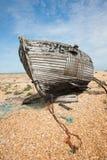 Schiffswrack, mit der Kette, vertikal lizenzfreie stockfotografie