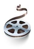 Schijf van de de cinematografie de videofilm van de filmband Stock Afbeelding