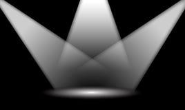 Schijnwerper royalty-vrije illustratie