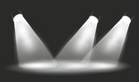 Schijnwerper vector illustratie