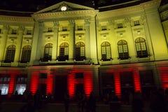 Schijnwerper Internationaal Festival Boekarest 2015 Royalty-vrije Stock Foto's