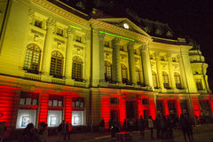 Schijnwerper Internationaal Festival Boekarest 2015 Royalty-vrije Stock Foto