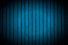 Schijnwerper op Donkerblauwe Houten Muur Stock Foto
