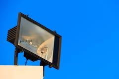 Schijnwerper op het dak Stock Foto
